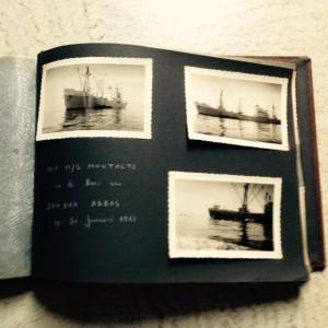 Bij het doorbladeren van de oude fotoboeken van papa vond ik nog een pagina met foto's van de Montalto