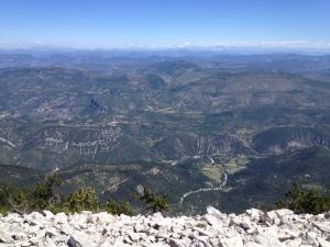 Mont Ventoux top